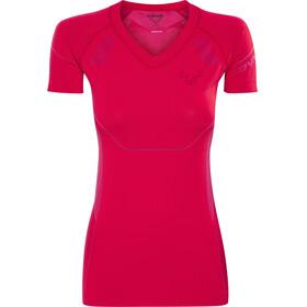 Dynafit Alpine Hardloopshirt korte mouwen Dames rood